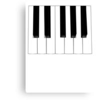 Keyboard Keys Canvas Print