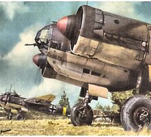 Ju-88 A-4 Edelweiss by A. Hermann