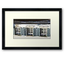 Windows in the Fountain Framed Print