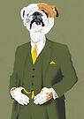 A Refined English Bulldog by drawgood