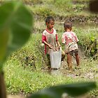 Hill Tribe children, Chang Mai, Thailand by indiafrank