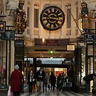 Melbourne City Arcade by DavidsArt