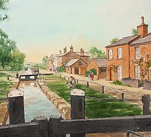 Fradley Junction by Lynne  M Kirby BA(Hons)
