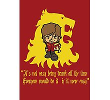 Thronies - Tyrion Photographic Print