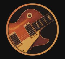 Gibson Les Paul Custom Sign decoration Clothing & Stickers by goodmusic