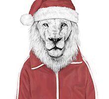 Santa lion by soltib