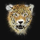 Tiger - Paint Splatters Dubs - Grunge Distressed Design by Denis Marsili