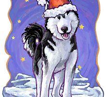 Husky Christmas by Traci VanWagoner