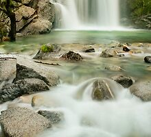 Upper Crystal Creek Falls by AndreaBorden