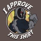 I approve this shirt (Factor version) by Demonigote