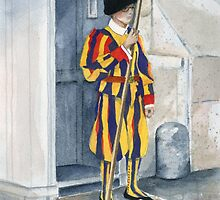 Vatican Guard by Marsha Elliott