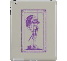 Saber Class Card iPad Case/Skin