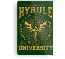 Hyrule University Metal Print
