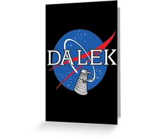 Dalek Space Program Greeting Card