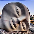 "Sculpture by the Sea 2013 - Vince Vozzo ""Moon Buddha"" by andreisky"