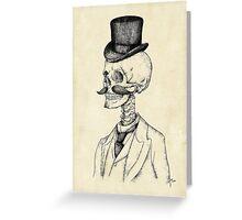 Old Gentleman Greeting Card