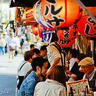 Yakitori stand in Tokyo  by Bryan W. Cole