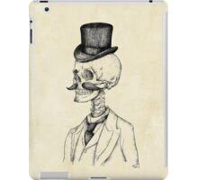 Old Gentleman iPad Case/Skin