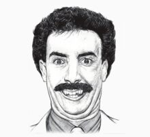 Borat Illustration by demoose