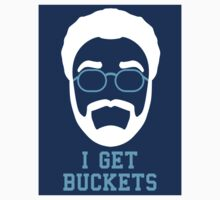 I Get Buckets - Stickers by 23jd45