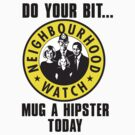neighbourhood hipster watch by websta