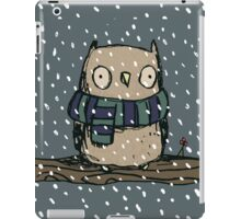 Chilly Owl iPad Case/Skin