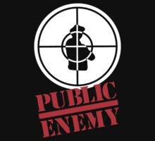 PUBLIC ENEMY (white) by Ritchie 1