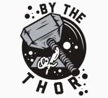 By the hammer of Thor t shirt. by printproxy