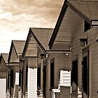 OCEAN BEACH BUNGALOWS by Larry Butterworth