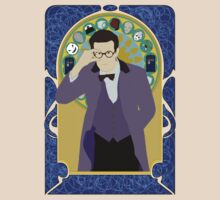 The Eleventh Doctor a la Alphonse Mucha by Ebonrook