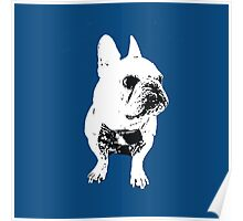 GEORGE the Korean-American French Bulldog Poster