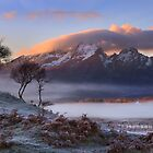 Blaven and Winter Mists. Isle of Skye. Scotland. by photosecosse /barbara jones