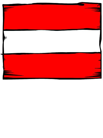 Austria Flag by kwg2200