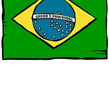 Brazil Flag by kwg2200