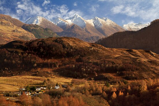 The Five Sisters of Kintail. North West Highlands of Scotland. by photosecosse /barbara jones