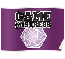 Game Mistress Poster