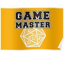 Game Master t-shirt Poster