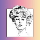 Sassy Gibson Girl by Ann Warrenton