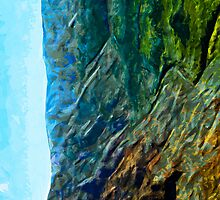 Waimea Canyon 11 Abstract Impressionism by pjwuebker