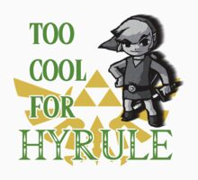Link - Too Cool For Hyrule (Zelda) by TheFinalDonut