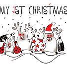 My First Christmas 1 by Tatiana Ivchenkova