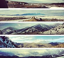Elevations Texas to Colorado by sdunaway