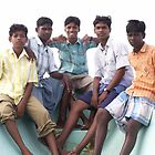 Tsunami survivors back in the water, Tamil Nadu, India by indiafrank
