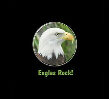 American Bald Eagle Rocks Case by idesignstuff