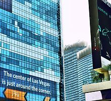 Center of Las Vegas  by Steve St.Amand