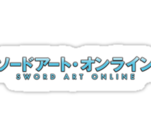 Sword Art Online Logo Sticker