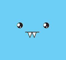 Super cute Kawaii vampite face by jazzydevil