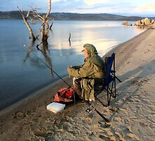 """Any minute now"" at Lake Eucumbene by eucumbene"