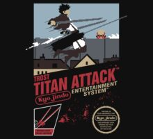 Trost Titan Attack by Crocktees