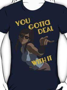 LoK - Korra Deal With It T-Shirt